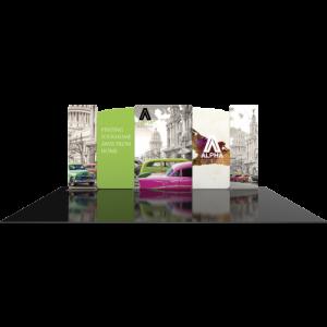 10x20 Reconfigurable Trade Show Display Kit